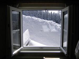 Műanyag ablakok a hideg ellen