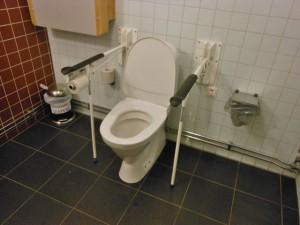 Mozgássérült WC